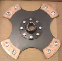 Driveplate sinter 228mm  22 splines 4 puck Test-mounted