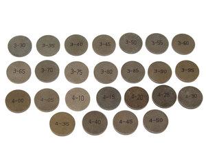 Ventiljustersats 2.70-3.15mm B19/B21/B23/B200/B230