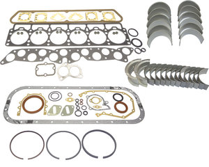 Restoration kit Volvo B30A gaskets bearings rings -1973