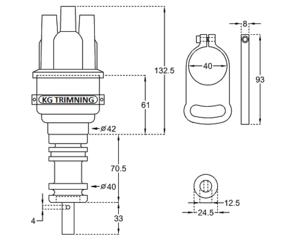 Ignition Distributor 123 B19/B21/B23/B230